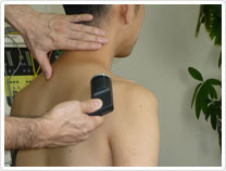 痛みのある患部に フィアクションも効果的です。