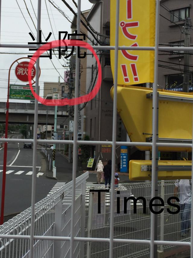 タイムズあざみ野第9駐車場からMY整体院が見えます。